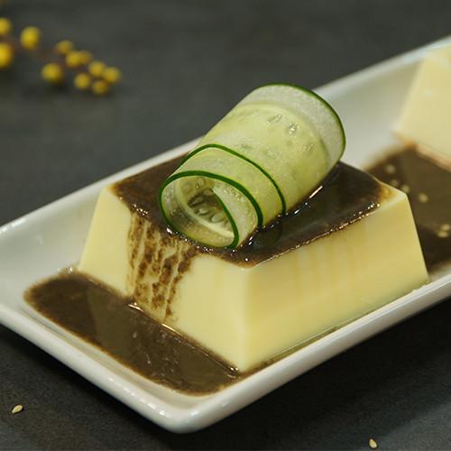黑芝麻芙蓉豆腐