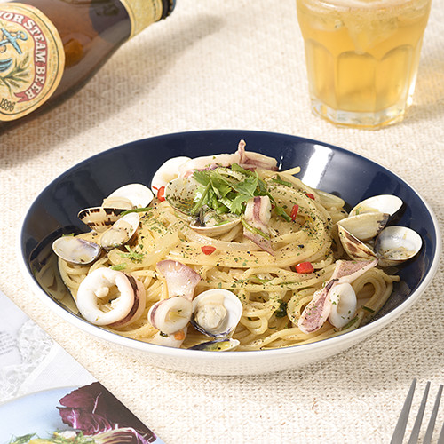 白酒香蒜蛤蜊義大利麵