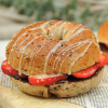 Strawberry Chocolate Bagel