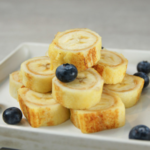 Banana Peanut Butter Roll-Up