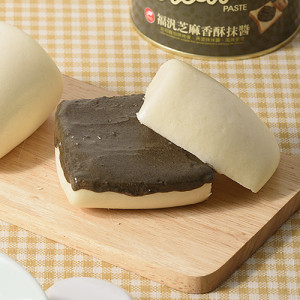 Steamed bread with sesame paste