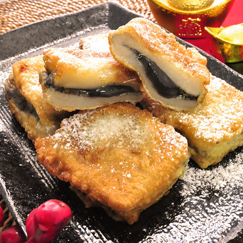 Sesame Rice Cake