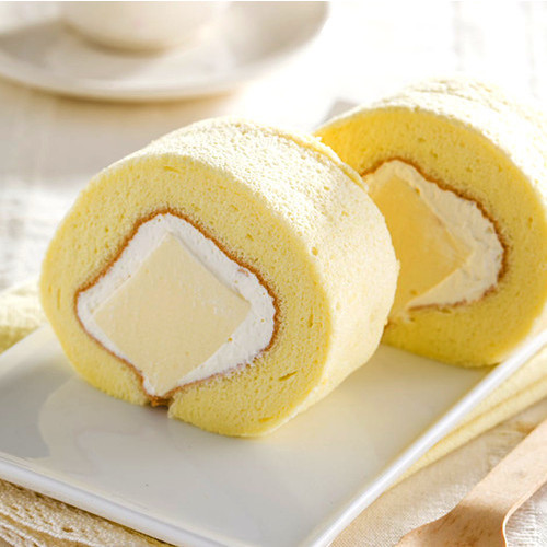 Coconut Panna Cotta Roll