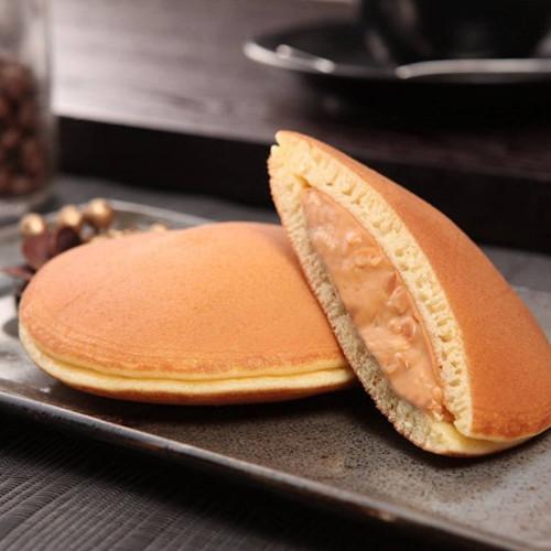 Crunchy Peanut Dorayaki