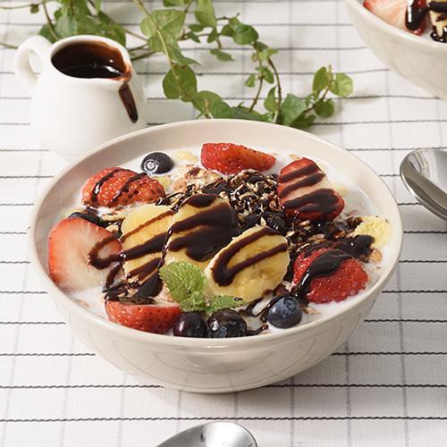 水果巧克力燕麥優格