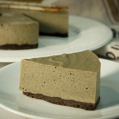 Sesame Mousse Cake