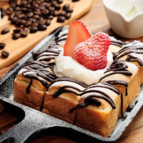 Chocolate Marshmallow Toast