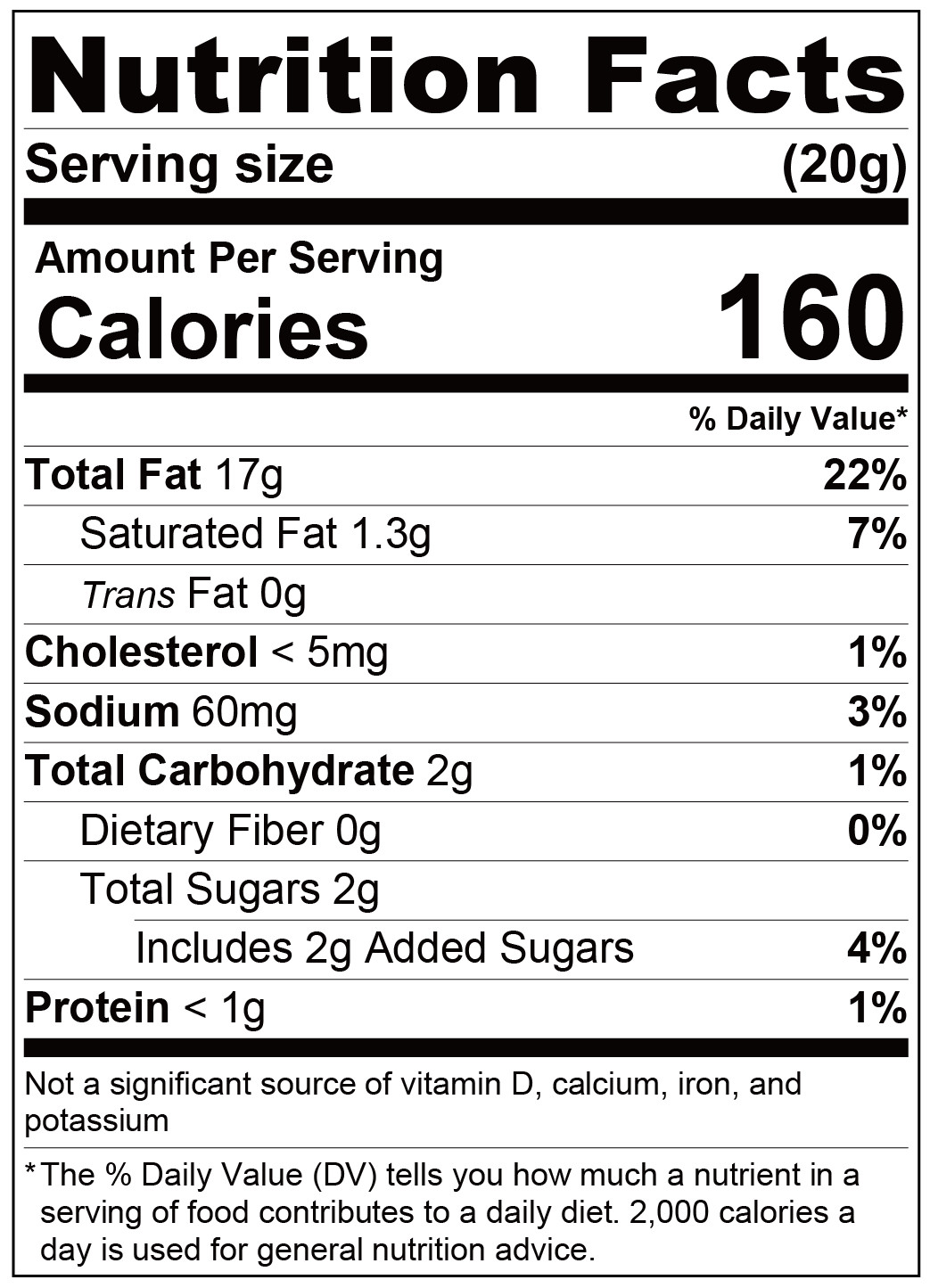 fufann delicate margarine-Nutrition