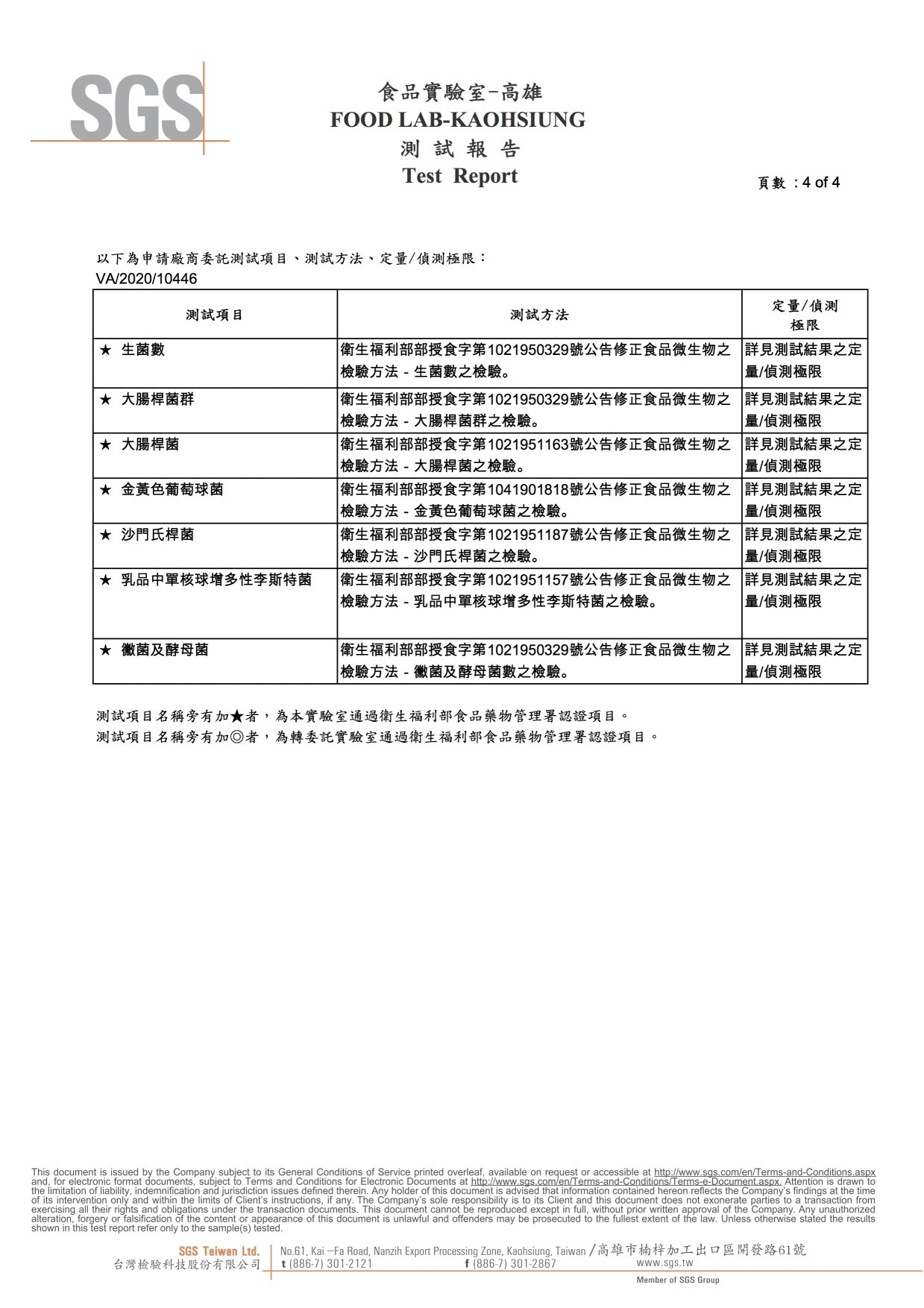福汎椰香【微生物】