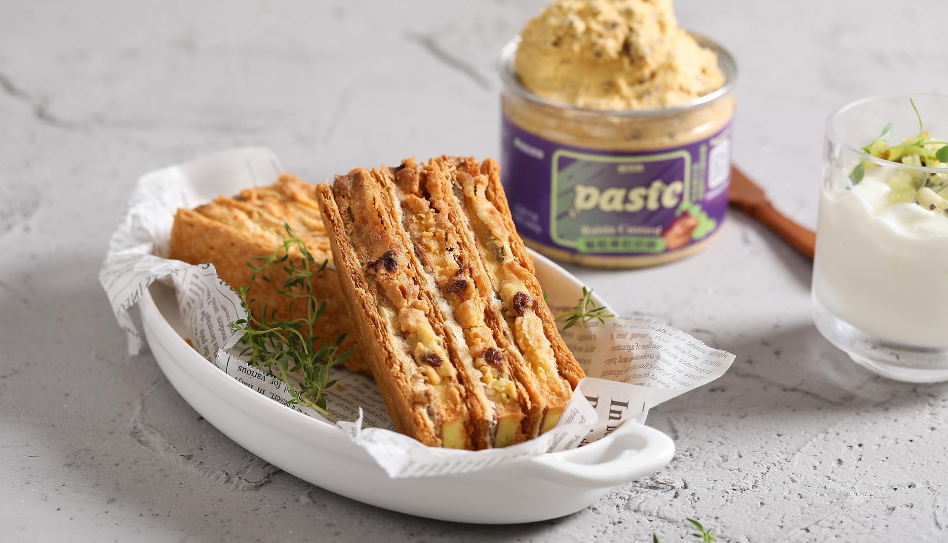 paste-葡萄果粒奶酥