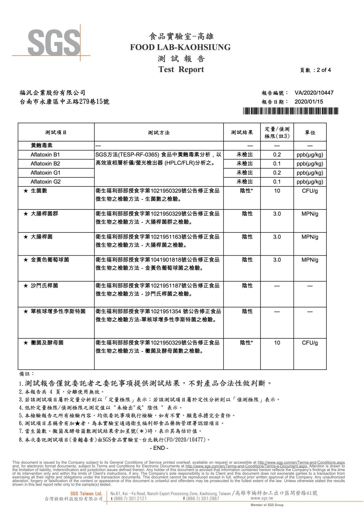 福汎芝麻【黃麴.微生物】